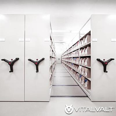 Mechanical Assist Mobile Storage Unit - GSA Pricing