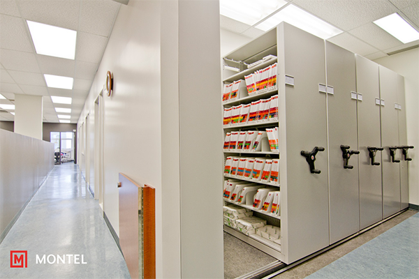 Mobile Shelving Systems - Medical File Conversion Services
