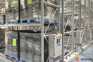 Mobile Industrial Racking for Cold Storage - Climate Controlled