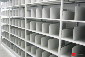 Four Post L&T Style Shelving System