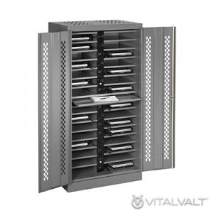 Cell Phone Storage Lockers - Locking Laptop Computer Locker - Charging Locker
