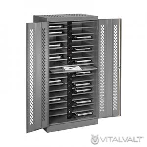 Cell Phone Storage Lockers - Locking Laptop Computer Locker - Charging Locker
