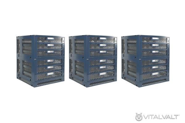 Bulletproof Storage - Computer Storage Lockers for Shipping