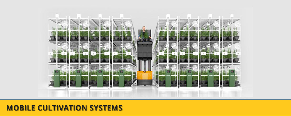 Mobile Storage Systems - Vertical Farming
