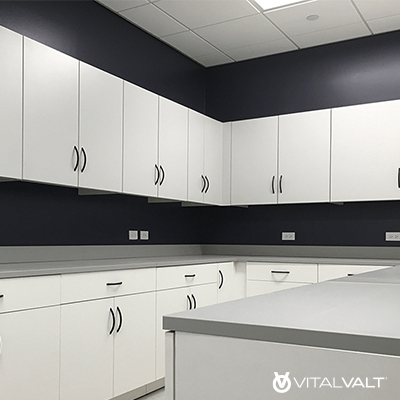 Modular Casework Cabinetry - Wall Cupboards - Casework Furniture - Laminate Wall Cabinet