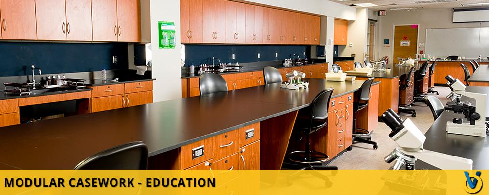 Classroom Casework - Classroom Cabinets - Classroom Consoles