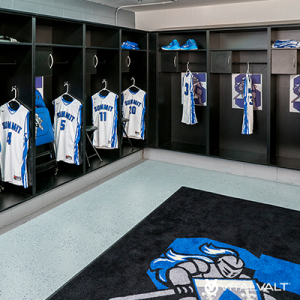 Casework Solutions for School Locker Rooms - Sports Locker Rooms