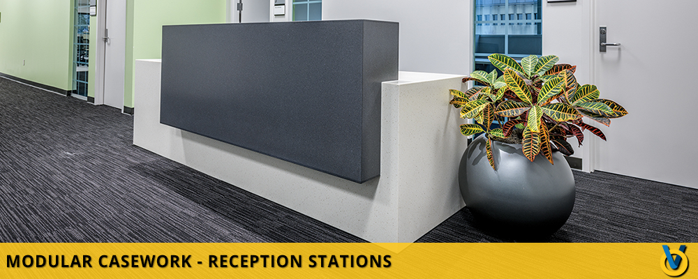 Reception Area Desk - Reception Furniture - Office Casework