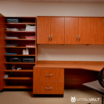 Modular Casework Storage for Home Office