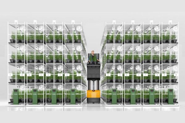 Commercial Grow Room - Mobilized Storage System
