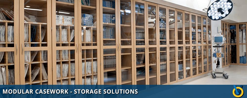 Modular Casework System for Storage