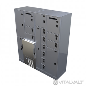 Climate Controlled Storage Lockers - Refrigerated Evidence Storage Lockers