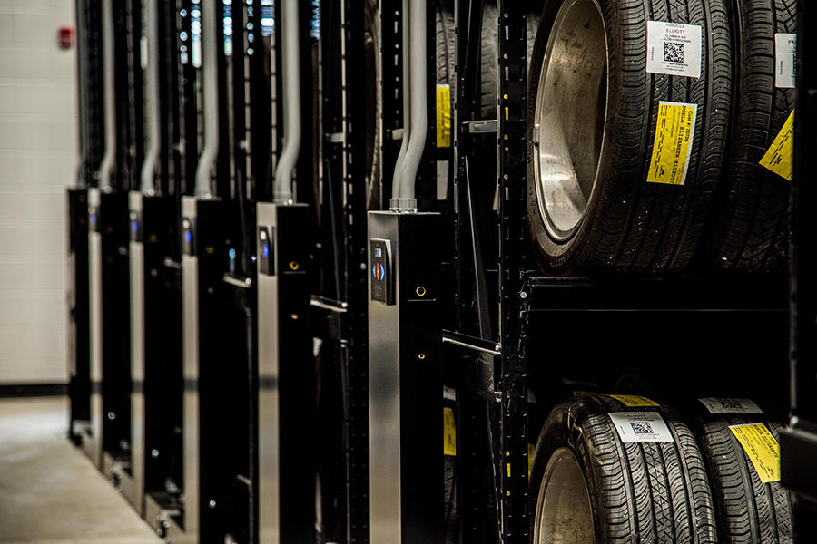 Automotive Storage - Tire Carousel