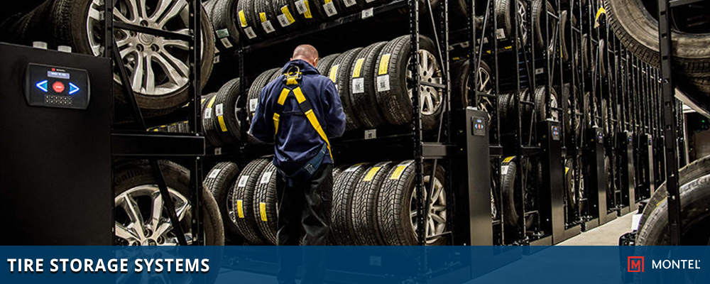 Tire Storage Rack - Tire Carousel