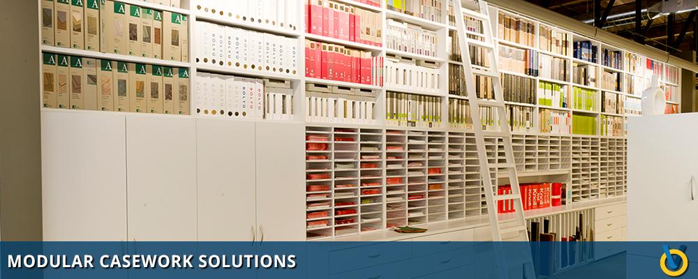 Hamilton Casework Solutions - Casework Storage