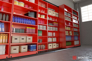 high Density Lateral Mobile Shelving