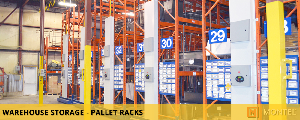 Warehouse Pallet Rack Systems - Industrial Storage