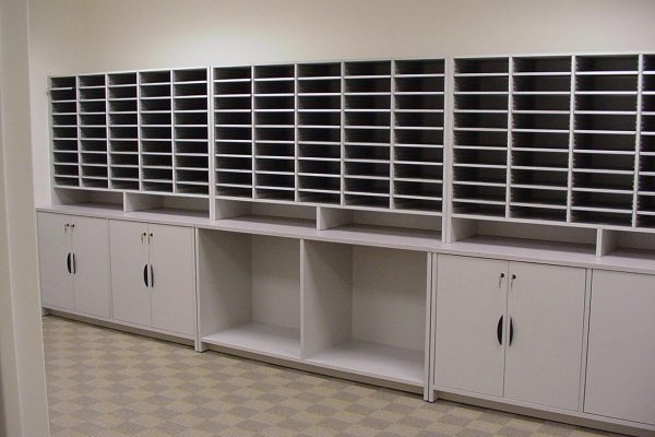 Mail Room Storage Solutions, Document Processing and Sorting