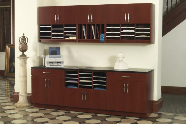 Modular Casework wall mounted