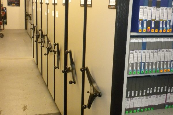 Film Vault Compact Shelving System