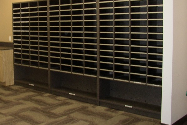 Free Standing Sort Modules, Mail Center Station Furniture