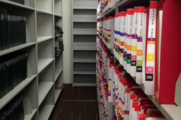 Color Coded File Folders Mobile Shelving, office Storage Filing, Office Storage filing supplies
