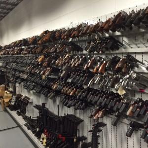 High Density Pistol Storage, Pistol Peg Strips