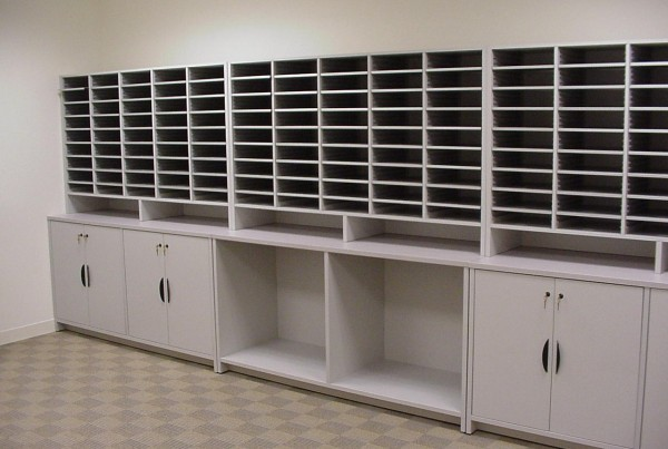 Mail Sort Module System, Mail Center Station Furniture