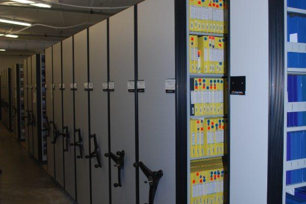 Movie Vault Mobile Shelving System