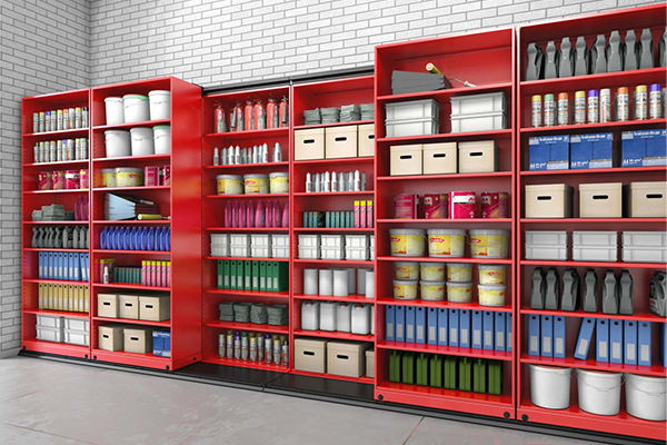 VitalValt - Quadra Lateral Moveable Storage - High Density Storage Systems 2