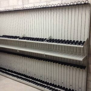 Weapon Shelving Property Evidence Storage