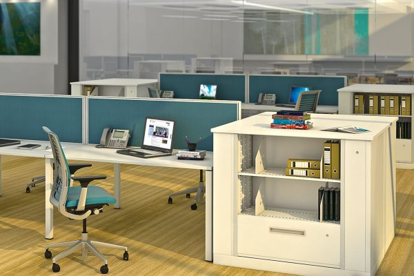 Lateral File Rotary Cabinets