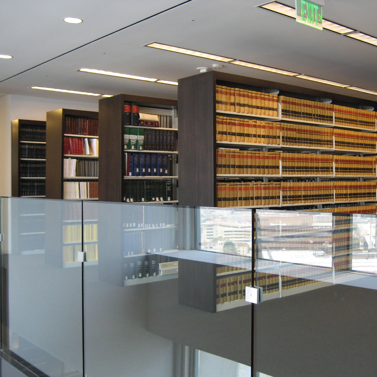 Law Firm Legal Library Shelving System