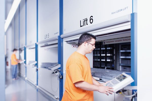 Lean Lift Vertical Lift Automated Storage System