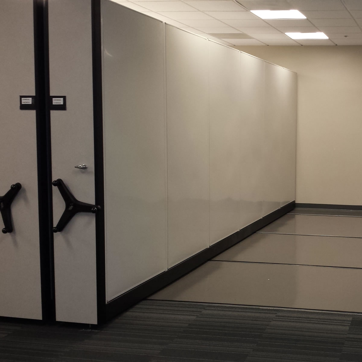 High Density Shelving Secure File System