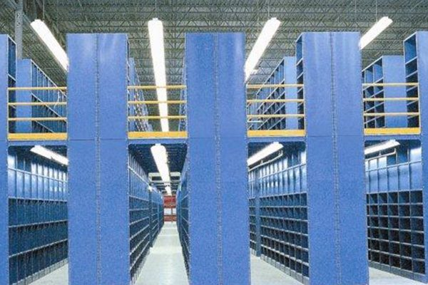 Shelving Supported Mezzanine Material Handling