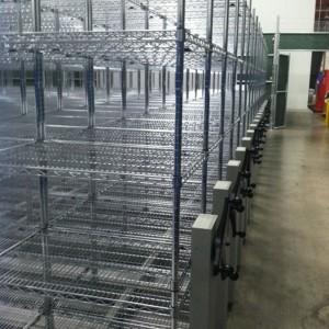 Wire Rack Biomedical Shelving