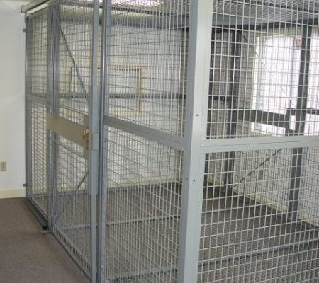 Welded Wire Security Cage