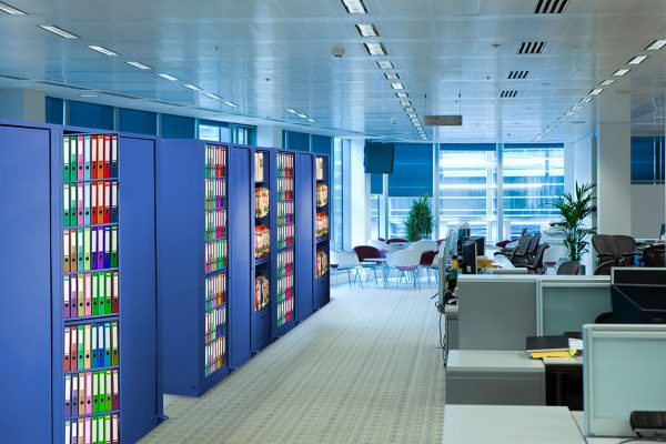Color Coded Storage, Color Coded Filing System, Color Coded Storage System