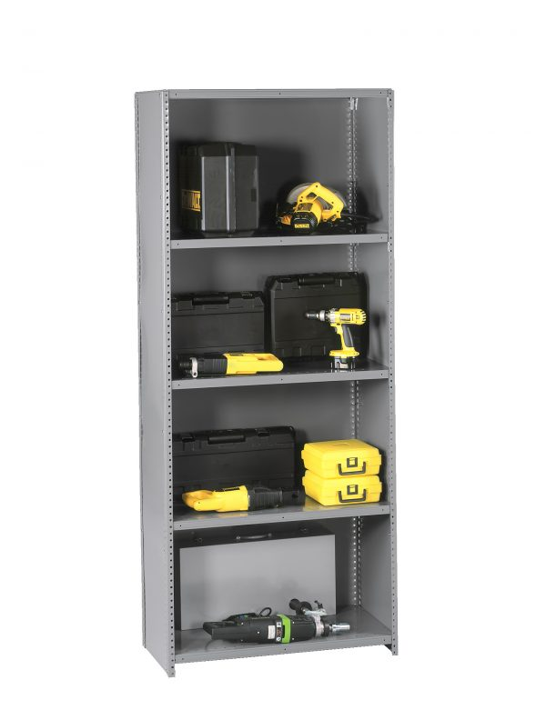 Clip Shelving Closed uprights