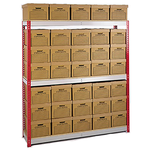 Vital Valt Storage - Archive Box Shelving Rack