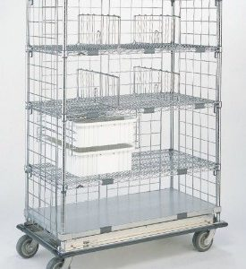 Mobile Wire Shelving Systems