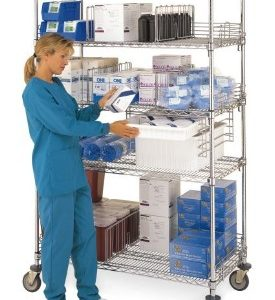 Medical Wire Shelving System