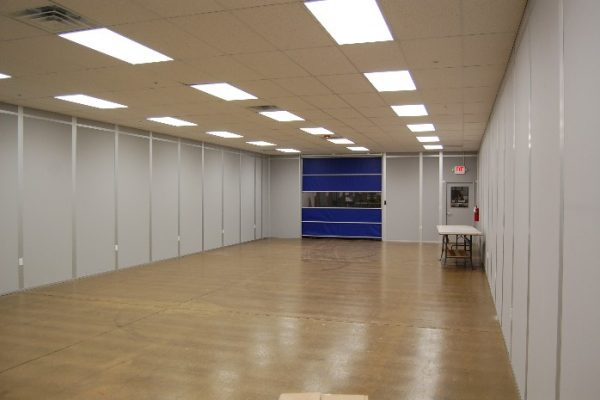 Modular Cleanroom Installation