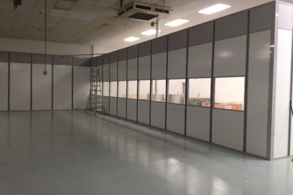 Converting Space into a cleanroom