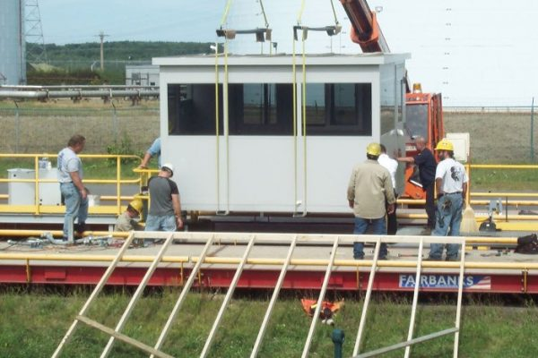 Portable Guard Building Installation