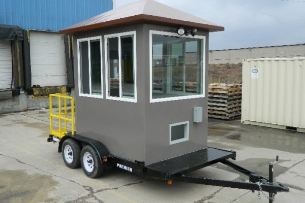 Trailer Mounted Guard Building