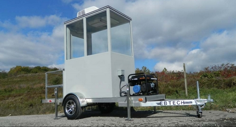 Portable Security Booth Trailer