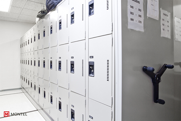 Mechanical Assist High Density Mobile Shelving Systems