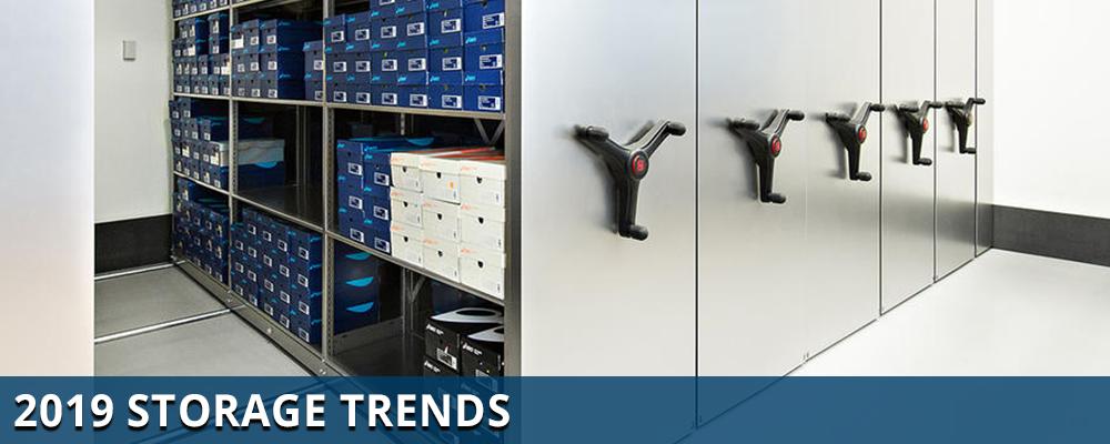 office storage trends, industrial storage trends